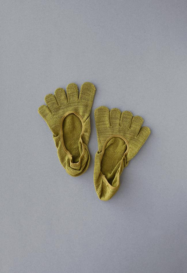五本指「足の肌着」絹と綿 フットカバー